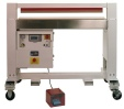 Large industrial horitonal impulse heat sealer