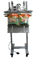 Industrial vertical heat sealer